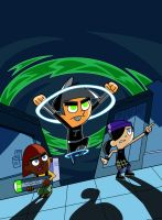 Timmy Phantom (Fairly Odd Parents/Danny Phantom) by PunkMetalhead