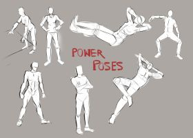 Power Poses by TroublingTim