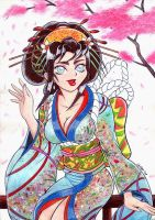 Geisha Miruku 2 by Celso33