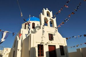 Church at Oia, Santorini 1 by wildplaces