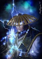 Raiden..Mortal Kombat X by Grapiqkad
