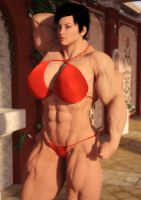 Soviet Superwoman by Fantasymuscle by Soviet-Superwoman