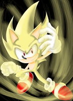 Super Sonic by SonicSpeedz