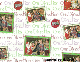 One Direction Christmas Wrapping Paper by iluvlouis