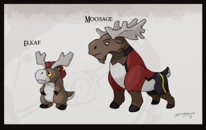 Mountain Moose by Either-Art