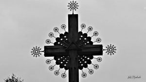Cross in Lithuania.....w.b. by gintautegitte69
