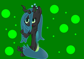 Queen chrysalis by Mapleflame2
