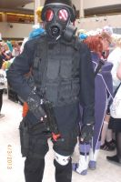 Animecon 2013 ~ Resident Evil ~ Hunk cosplay by xXGiggleDeathProXx