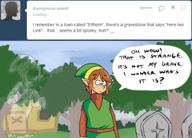 Ask Link - Elfheim by pocket-arsenal