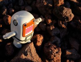 One giant step for Domo by PiliBilli