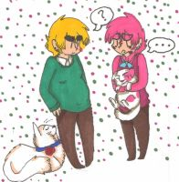 Kitty Play Date by Like-A-British-Guy