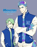 Monsters University by cielo0903