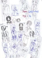 The Many Doodles of Emo by Xedramon