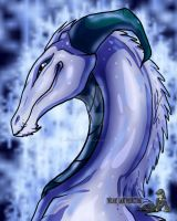 Dragon Bust Winter by TwilightSaint