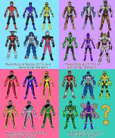 Hypothetical 'Go-Busters' Toy Lines by LavenderRanger
