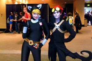 Jack Spicer and Katnappe 2 by GamerSpax