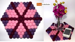 Pink Poinsetia by my-craftmania