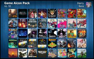 Game Aicon Pack 92 by HarryBana