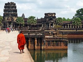 Angkor Reflections by LucidImagery