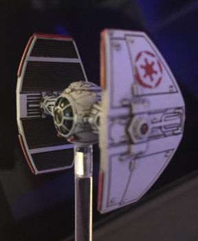 Tie Advanced Prototype with Red Empire logo by Dan-Frederick