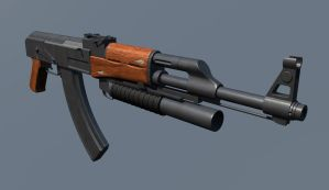 TS2 AK47 by Project-90