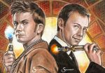 Time Lords Sketch cards by scotty309