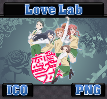 Love Lab ICO & PNG by bryan1213