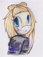 Bow and her Letterman :D by shadamylover7