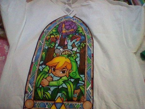 Toon Link T-Shirt by ribby2000