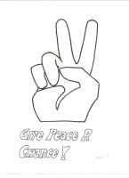 GIVE PEACE A CHANCE by LilyLondon9