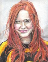 Amy Pond by carien13