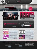 Showtek website by fOXBLASTER