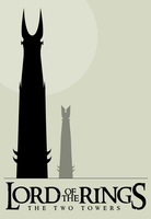 LOTR Twin Towers by bigoldtoe