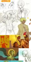 2009 - Aug+Sept Sketchdump by feyuca