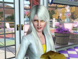 Sims: GLaDOS is not amused by bloodwolf8