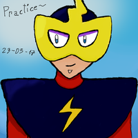 (DIGITAL ART) Practice Draw with the Tablet by Thunderblade2001