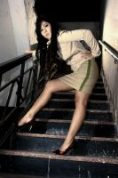 Stairway Girl by vemano88