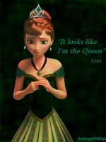 Queen Anna of Arendelle. by Astrogirl500