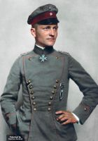 Manfred von Richthofen: The Red Baron by marinamaral