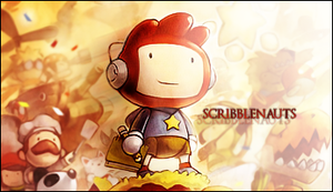 Scribblenauts Sig by Oni3298