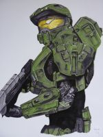 Master Chief (Halo 4 armour) by Macca-Chief