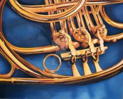 french horn by Anniez19
