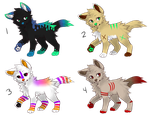Adoptables 5 - 4/4 OPEN AUCTION (POINTS OR USD) by SCENE-KlNG