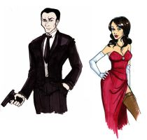Bond, James Bond by gracifer