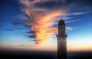 lonely minaret... by universeee