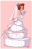 Cake Bride by Mango-Pirate