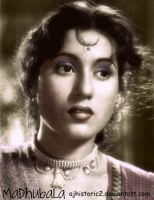 Glowing Madhubala by ajhistoric2