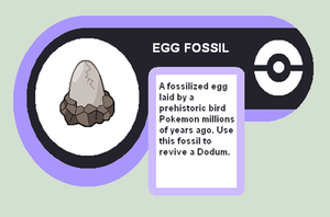 Egg fossil by Cerulebell