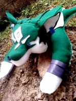 Wolf-Link Plushie by UraHameshi