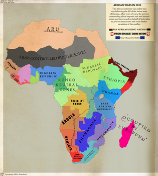 The African Wars in 2035 by Jockehh